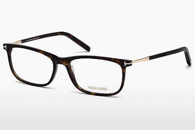 Lunettes design Tom Ford FT5398 052 - Brunes, Dark, Havana
