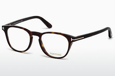 Lunettes design Tom Ford FT5410 052 - Brunes, Dark, Havana