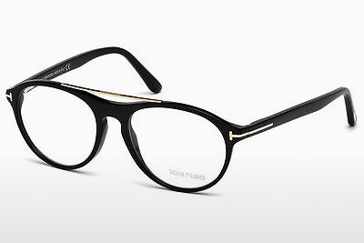 Lunettes design Tom Ford FT5411 001 - Noires, Shiny