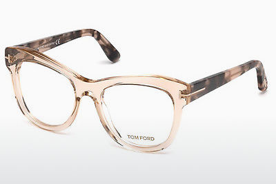 Lunettes design Tom Ford FT5463 045 - Brunes, Bright, Shiny