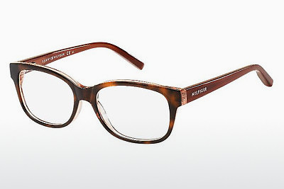Lunettes design Tommy Hilfiger TH 1017 MNY - Brunes, Havanna