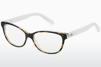 Lunettes design Tommy Hilfiger TH 1364 K2W - Brunes, Havanna