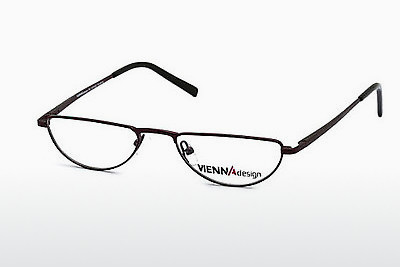 Eyewear Vienna Design UN387 03 - Red, Bordeaux