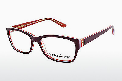 Eyewear Vienna Design UN526 03 - Red, Wine