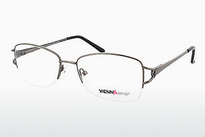 Eyewear Vienna Design UN580 03 - Grey, Gunmetal