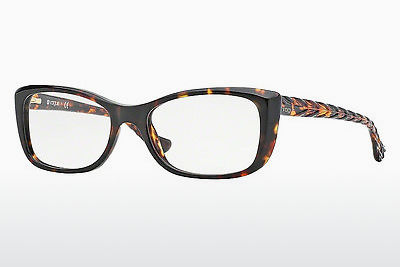 Lunettes design Vogue VO2864 W656 - Brunes, Havanna