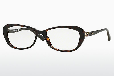 Lunettes design Vogue VO2909 W656 - Brunes, Havanna