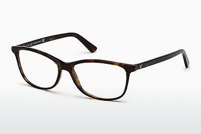 Lunettes design Web Eyewear WE5133-N 052 - Brunes, Havanna