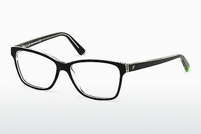 Lunettes design Web Eyewear WE5182 003 - Noires, Transparent
