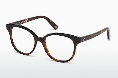 Lunettes design Web Eyewear WE5196 052 - Brunes, Havanna