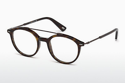 Lunettes design Web Eyewear WE5204 052 - Brunes, Dark, Havana