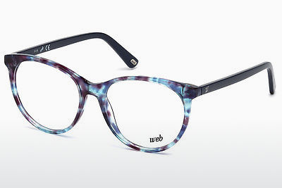 Lunettes design Web Eyewear WE5213 055 - Multicolores, Brunes, Havanna
