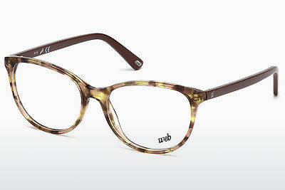 Lunettes design Web Eyewear WE5214 055 - Multicolores, Brunes, Havanna