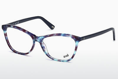 Lunettes design Web Eyewear WE5215 055 - Multicolores, Brunes, Havanna