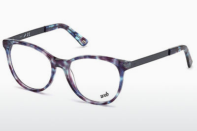 Lunettes design Web Eyewear WE5217 055 - Multicolores, Brunes, Havanna