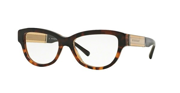Burberry BE2208 3559 TOP DK HAVANA/LIGHT HAVANA