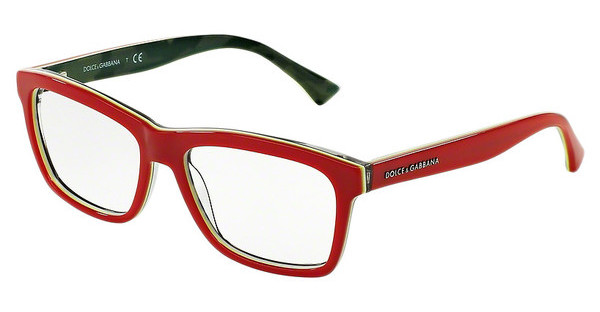 Dolce & Gabbana DG3235 2960 RED/FLUO YELLOW/CAMO