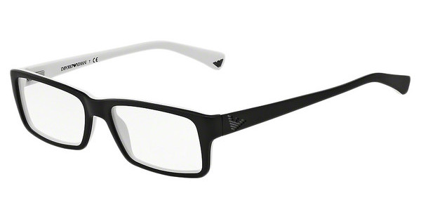 Emporio Armani EA3003 5322 TOP BLACK ON MATTE WHITE