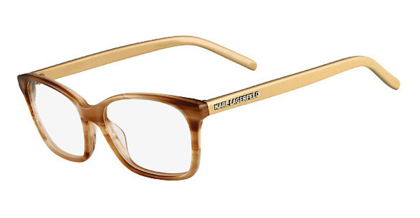 Karl Lagerfeld KL774 134 COGNAC STRIPED