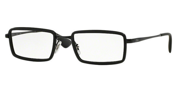 Ray-Ban RX6337 2509 RUBBER BLACK