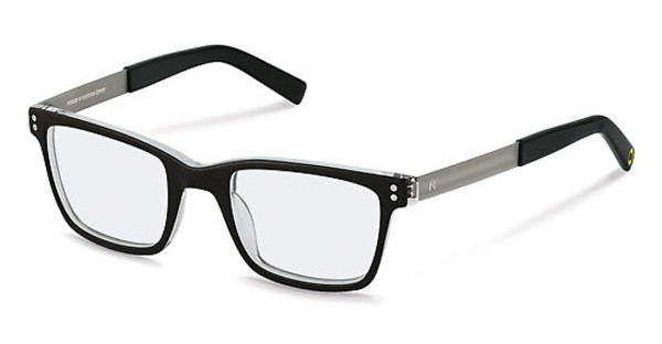 Rocco by Rodenstock RR426 A black/ crystal layered
