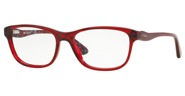 Vogue VO2908 2257 TRANSPARENT BORDEAUX