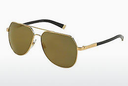Ophthalmic Glasses Dolce & Gabbana BASALTO (DG2133K 02/39) - Gold, Sand