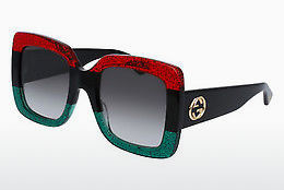Ophthalmic Glasses Gucci GG0083S 001 - Red