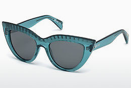 Ophthalmic Glasses Just Cavalli JC746S 87A - Blue, Turquoise, Shiny
