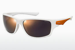Ophthalmic Glasses Polaroid Sports PLD 7012/S IXN/OZ - White, Orange