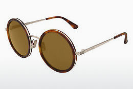 Ophthalmic Glasses Saint Laurent SL 136 COMBI 003 - Brown, Havanna