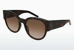 Ophthalmic Glasses Saint Laurent SL M19 002 - Brown, Havanna