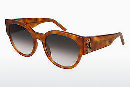 Ophthalmic Glasses Saint Laurent SL M19 003 - Brown, Havanna