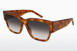 Ophthalmic Glasses Saint Laurent SL M21 003 - Brown, Havanna