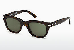 Lunettes de soleil Tom Ford Snowdon (FT0237 52N) - Brunes, Dark, Havana