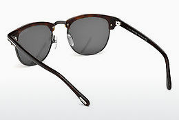 Lunettes de soleil Tom Ford Henry (FT0248 52A) - Brunes, Dark, Havana
