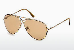 Ophthalmic Glasses Tom Ford Tom N.4 (FT0488-P 28E) - Gold