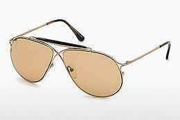 Ophthalmic Glasses Tom Ford Tom N.6 (FT0489-P 28E) - Gold
