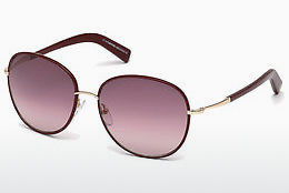 Ophthalmic Glasses Tom Ford Georgia (FT0498 69T) - Burgundy, Bordeaux, Shiny