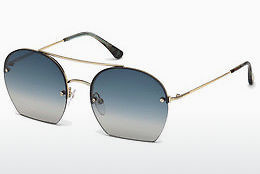 Lunettes de soleil Tom Ford Antonia (FT0506 28W) - Or