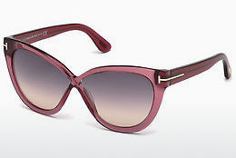 Ophthalmic Glasses Tom Ford Arabella (FT0511 69B) - Burgundy, Bordeaux, Shiny