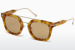 Ophthalmic Glasses Tom Ford Alex (FT0541 53E) - Havanna, Yellow, Blond, Brown
