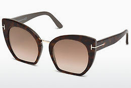 Lunettes de soleil Tom Ford Samantha (FT0553 56G) - Havanna