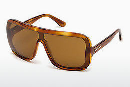Lunettes de soleil Tom Ford FT0559 53E - Havanna, Yellow, Blond, Brown