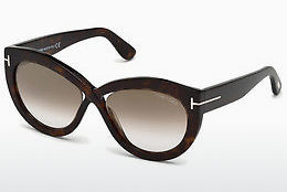Lunettes de soleil Tom Ford FT0577 52G - Brunes, Havanna