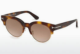 Lunettes de soleil Tom Ford FT0598 53G - Havanna, Yellow, Blond, Brown