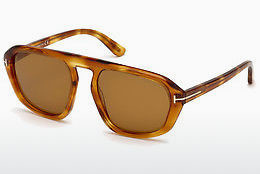 Lunettes de soleil Tom Ford FT0634 53E - Havanna, Yellow, Blond, Brown