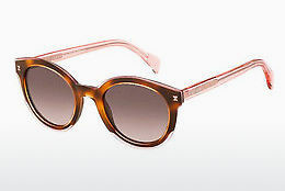 Ophthalmic Glasses Tommy Hilfiger TH 1437/S LQ8/3X - Pink, Brown, Havanna