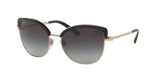 Bvlgari BV6082 376/8G GREY GRADIENTPINK GOLD/BLACK