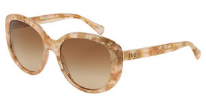 Dolce & Gabbana DG4248 292813 BROWN GRADIENTPOWDER MARBLE